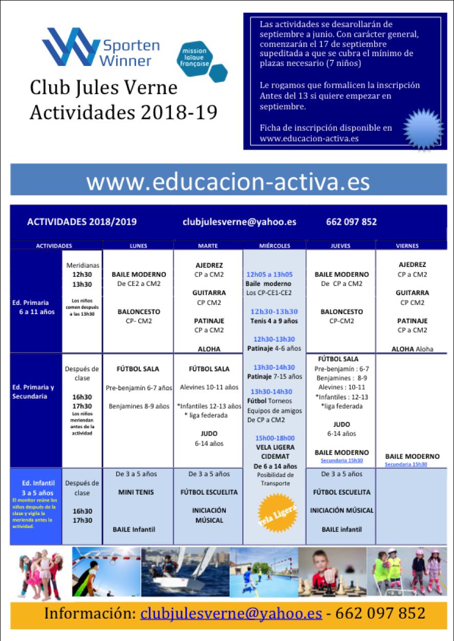 Calendario-Actividades-Extraescolares