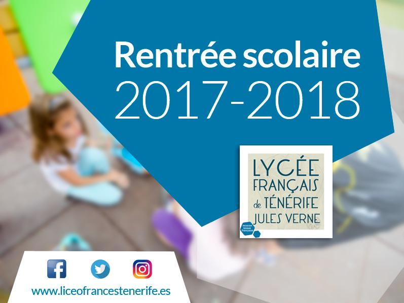 Lycee Fraçais Rentree scolaire