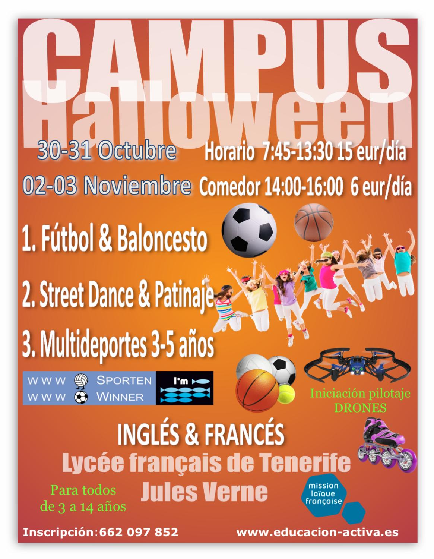 Lycee Francais Jules Verne-Campamento-Halloween