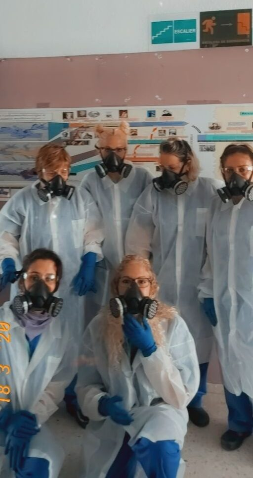 Nuestro equipo de limpieza 1