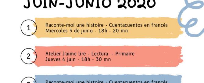 Programme juin Tenerife Accueil