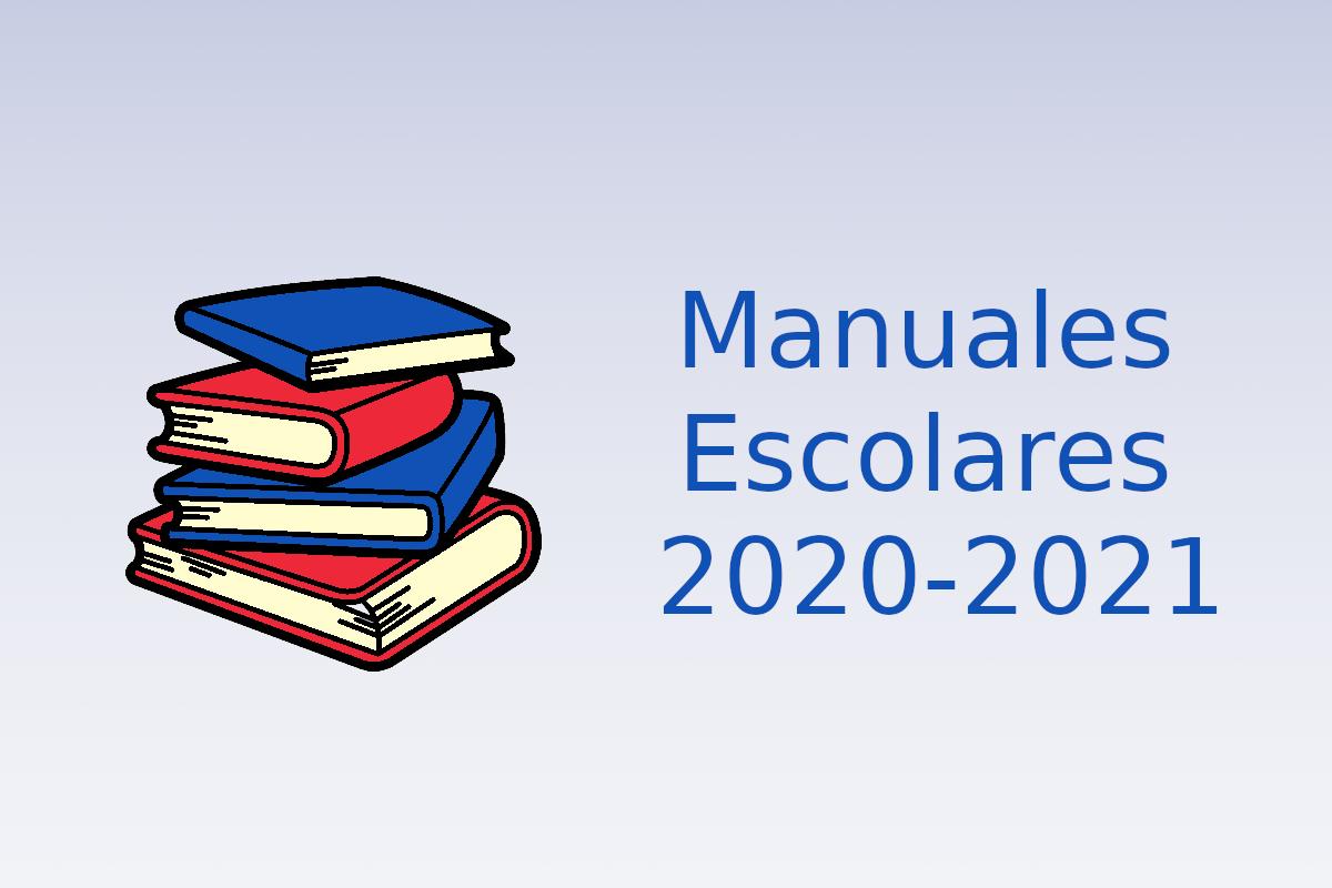 Manuales escolares 2020-2021
