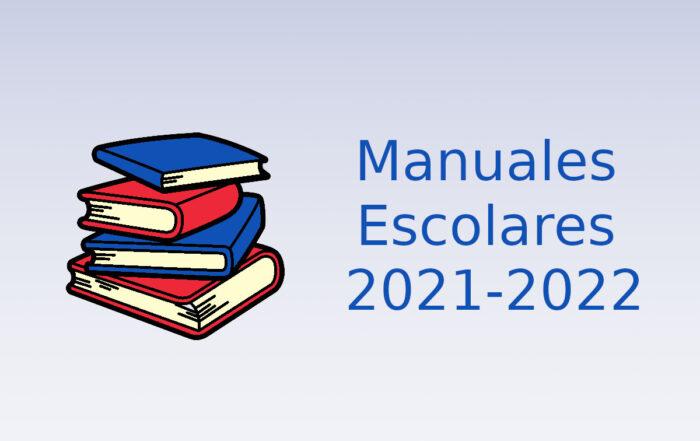 Manuales escolares 2021-2022