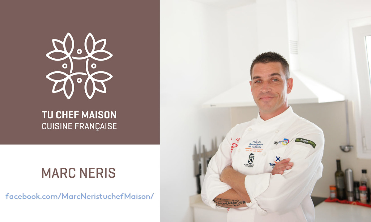 Marc Neris tu chef maison
