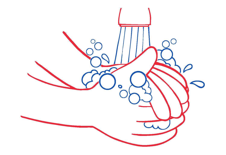 Lavarse las manos es parte del protocolo evolutivo