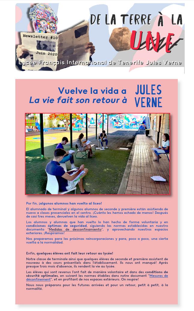 Newsletter nº10 junio 2020