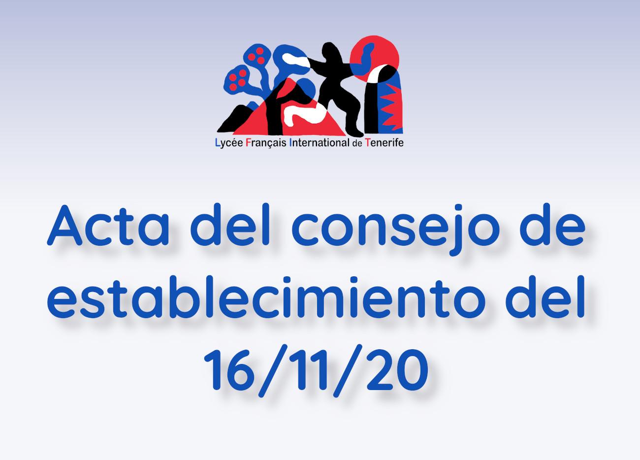 Acta CE 16/11/20