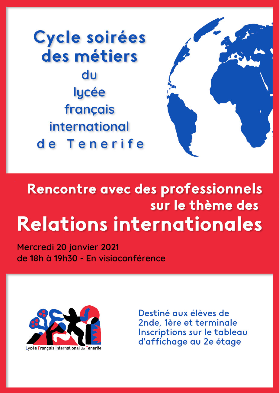 Orientation: Les relations internationales
