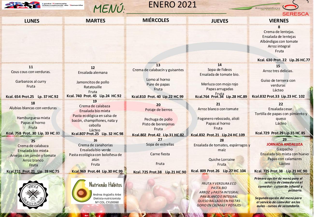 menu enero 2021