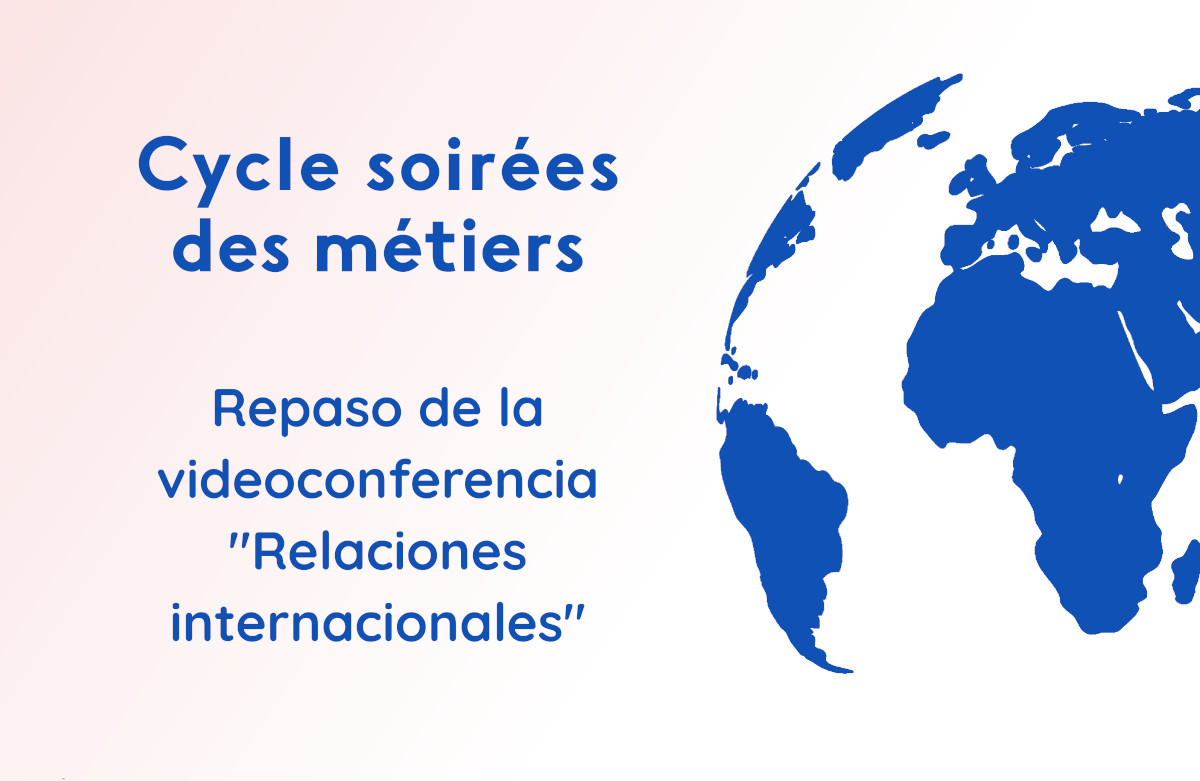 Soirée métiers relations internationales