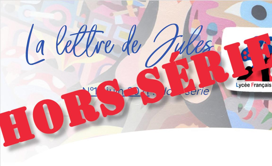 Portada de la edición especial de la Carta de Jules